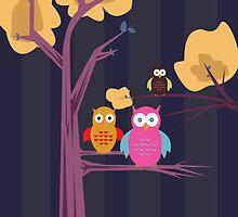 Owls 3 by Adamzworld