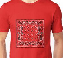 Bandana Paisley Design Unisex T-Shirt