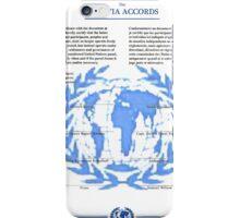 THE SOKOVIA ACCORDS iPhone Case/Skin