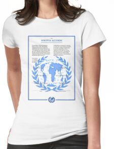 THE SOKOVIA ACCORDS Womens Fitted T-Shirt