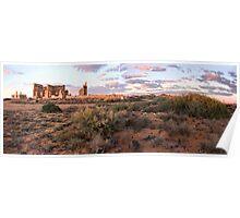 Farina Ruins panorama Poster