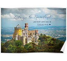 Let´s go to Neverland Poster