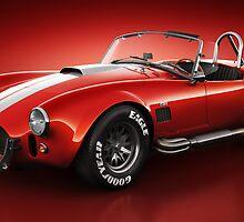 Shelby Cobra 427 - Bloodshot by Marc Orphanos