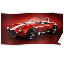 Shelby Cobra 427 - Bloodshot Poster