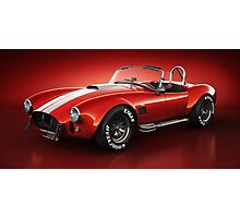 Shelby Cobra 427 - Bloodshot Photographic Print