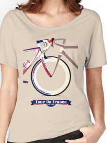 Tour De France Bike Women's Relaxed Fit T-Shirt