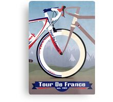 Tour De France Bike Metal Print