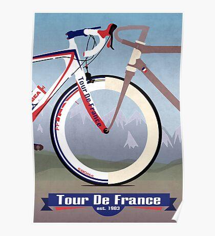 Tour De France Bike Poster