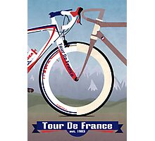 Tour De France Bike Photographic Print
