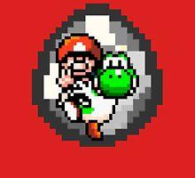 Mario & Yoshi Win Pose Unisex T-Shirt