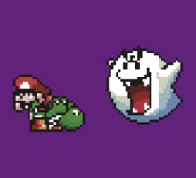 Mario & Yoshi being scared by Funkymunkey
