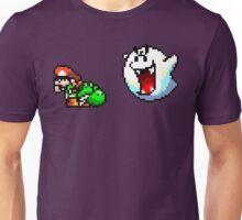 Mario & Yoshi being scared Unisex T-Shirt