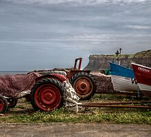 Tractors Cliff by Andrew Pounder