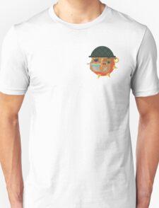 Flat design bulldog tattoo Unisex T-Shirt
