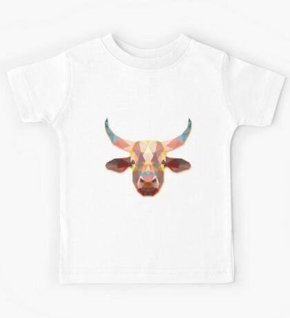 Bull Animals Gift Kids Tee