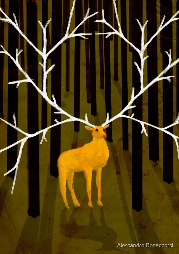 A deer a dream by Alessandro Bonaccorsi
