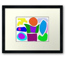 Flower and Water Framed Print