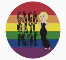 Princess Pride Gaga Badge by speechlessemily
