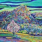 "Flame tree at ""Bundanon"" by Kerry  Thompson"