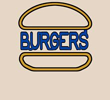 """Sign Seeing"" Neon Burger Hamburger Sign Unisex T-Shirt"