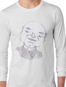 Fat business man Long Sleeve T-Shirt