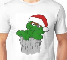 Christmas Oscar the Grouch Unisex T-Shirt