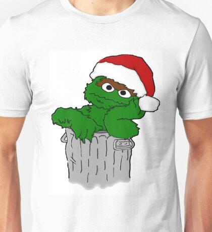 Christmas Oscar the Grouch Unisex T-Shirt