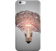 Light Bulb Brain iPhone Case/Skin