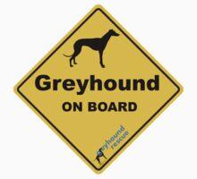 Greyhound On Board by GreyhoundRescue