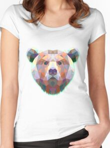 Bear Animals Gift Women's Fitted Scoop T-Shirt