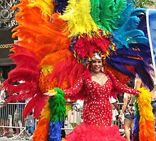 Queen for a day, New York City Pride Parade by Alberto  DeJesus