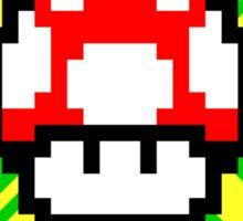 Mushroom Power Sticker