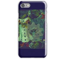 Vintage steampunk gears and corset iphone case iPhone Case/Skin