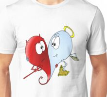 Angel & Devil Love Unisex T-Shirt