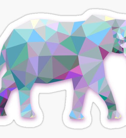 Elephant Animals Gift Sticker