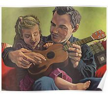 The Ukelele Lesson Poster