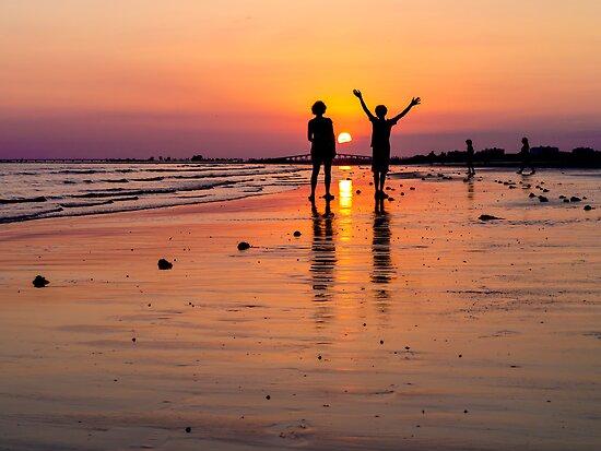 Florida Sunset by Edward Fielding