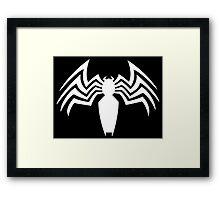 Venom Logo Framed Print