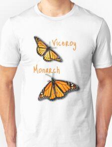Viceroy/Monarch T-shirt Unisex T-Shirt
