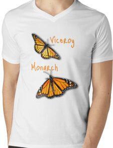 Viceroy/Monarch T-shirt Mens V-Neck T-Shirt