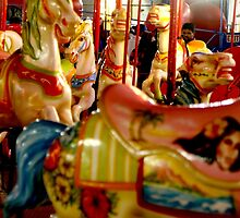 Carousel, Amusement Park, Coney Island by Koon