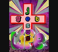 Get Life: Get Jesus Womens Fitted T-Shirt