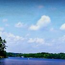 Lake Greenwood Pano by Lisa Taylor