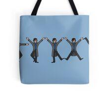 Dancing Sherlock Tote Bag