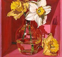 Narcissus in Pink by soothedbyrain