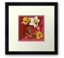 Narcissus in Pink Framed Print