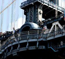 Manhattan Bridge, New York City by Koon