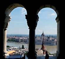 Hungarain Parliament Building by Lynn Bolt