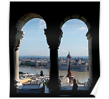 Hungarain Parliament Building Poster