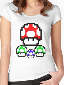 Super, 1-Up & Mini Women's Fitted Scoop T-Shirt